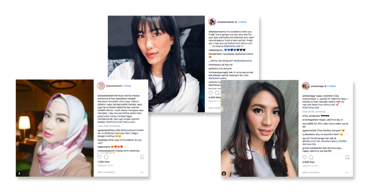 10 Creative Ways To Run Influencer Marketing and Branded Content Campaigns - Acuvue case study