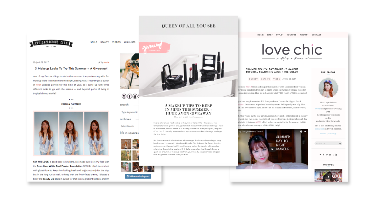 What is Content Marketing - Avon Sponsored Content case study