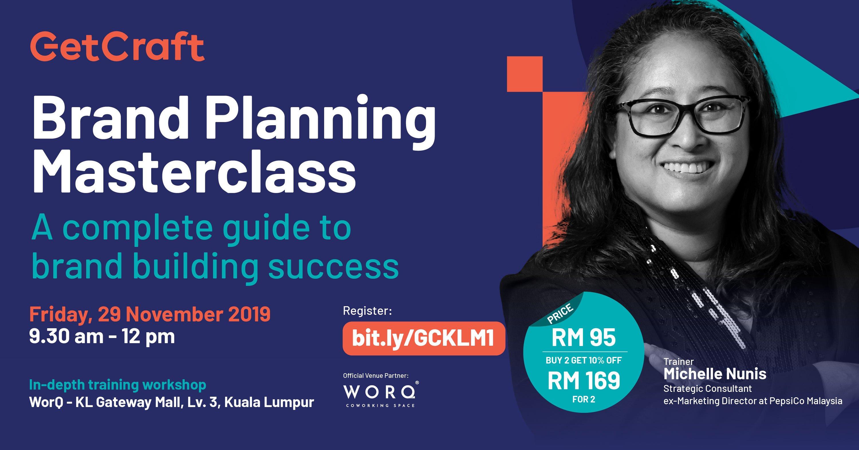 Brand Planning Masterclass Kuala Lumpur