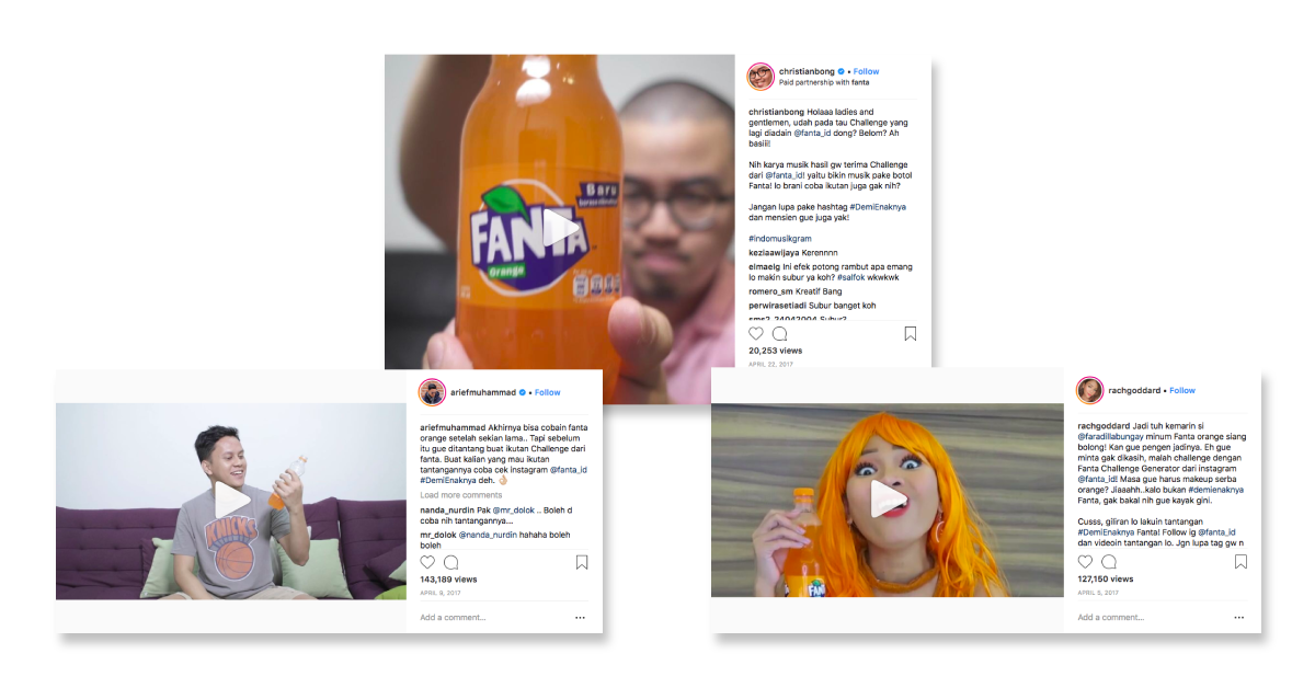 10 Creative Ways To Run Influencer Marketing and Branded Content Campaigns - Fanta case study