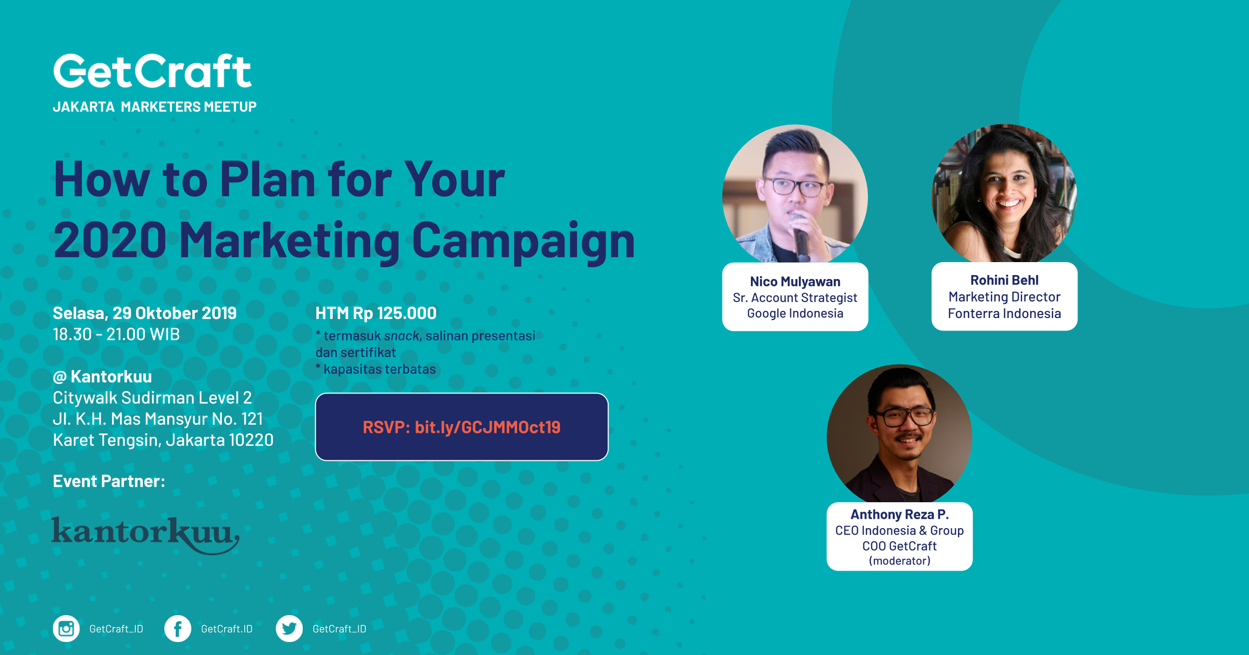 [Upcoming Event!] How to Plan for Your 2020 Marketing Campaign