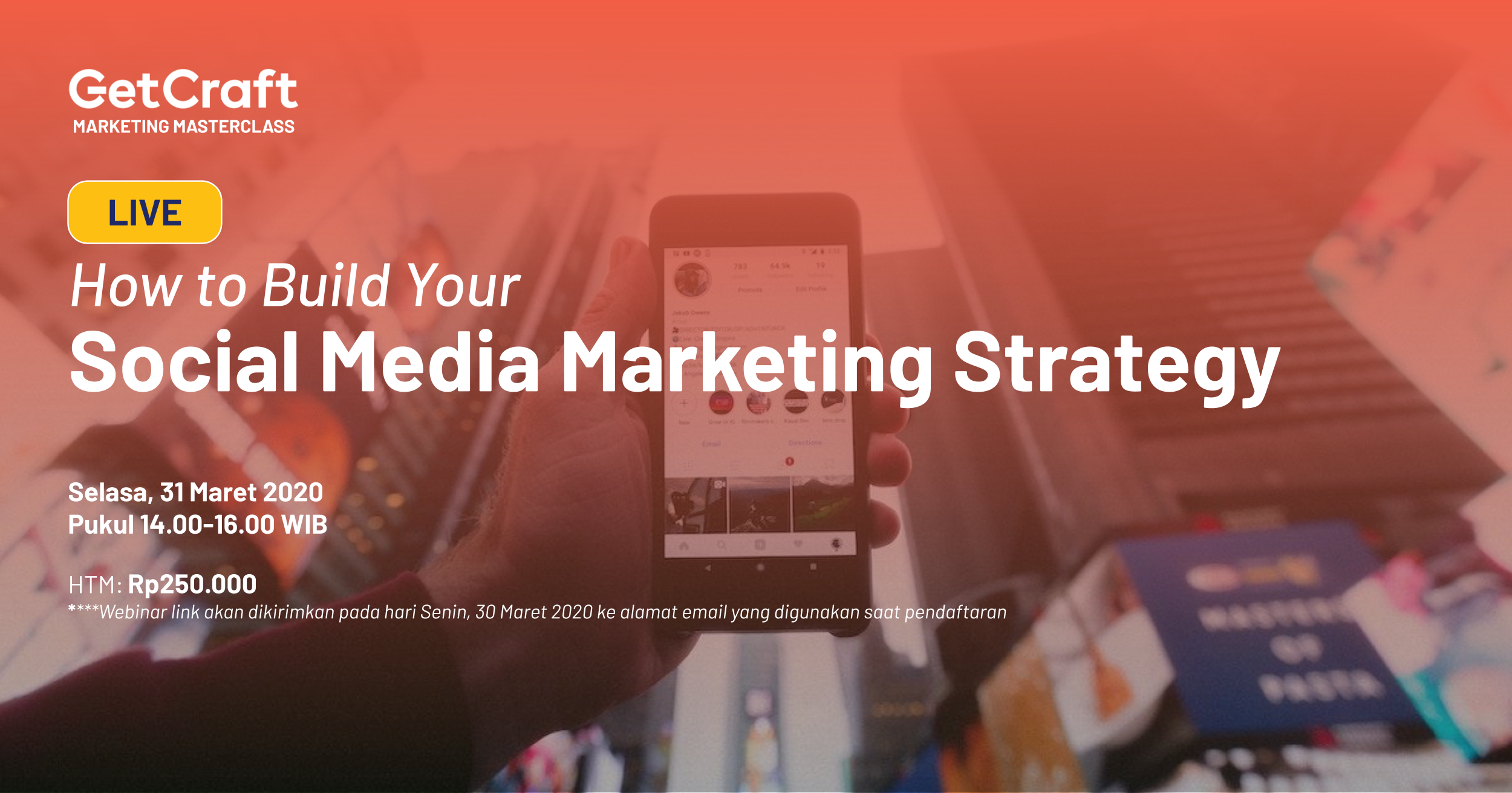 [Upcoming Online Training] How to Build Your Social Media Marketing Strategy