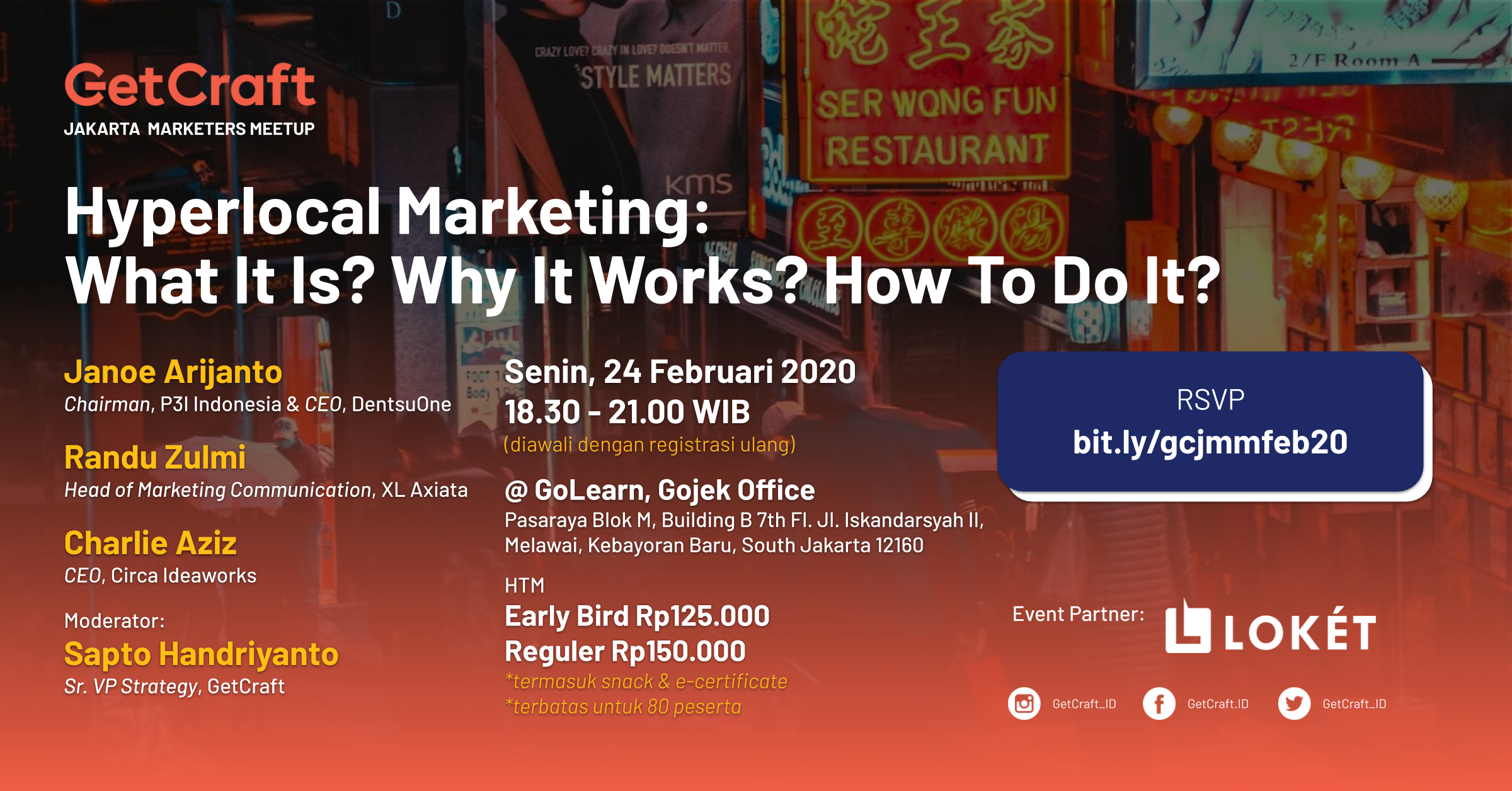 Jakarta Marketers Meetup Ed. Februari 2020