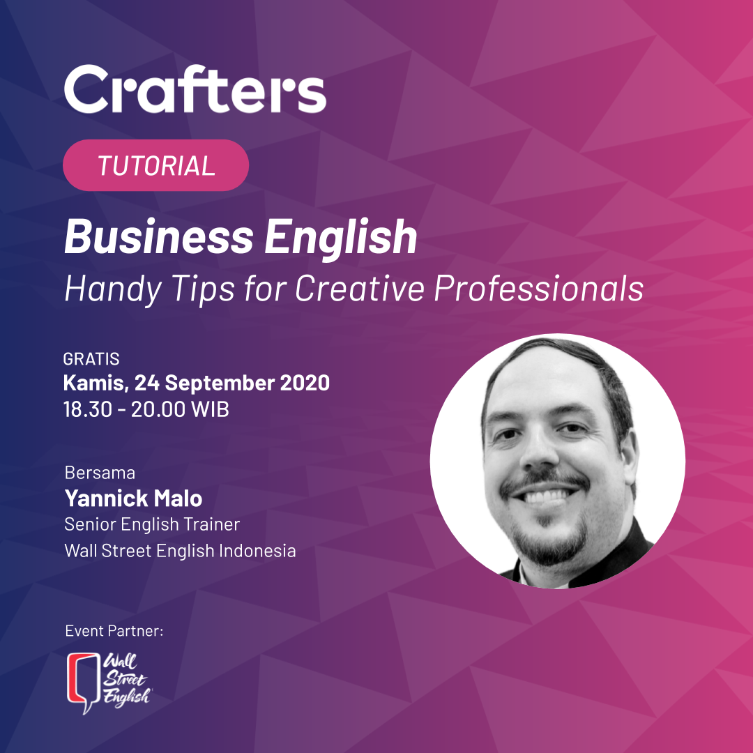Crafters Tutorial 24 September 2020