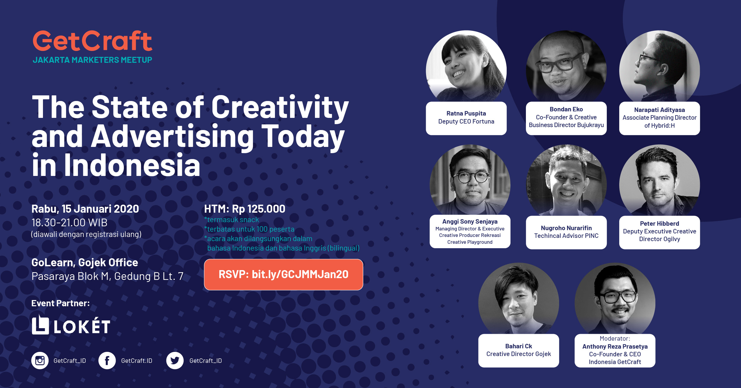 [Upcoming Event!] The State of Creativity and Advertising Today in Indonesia