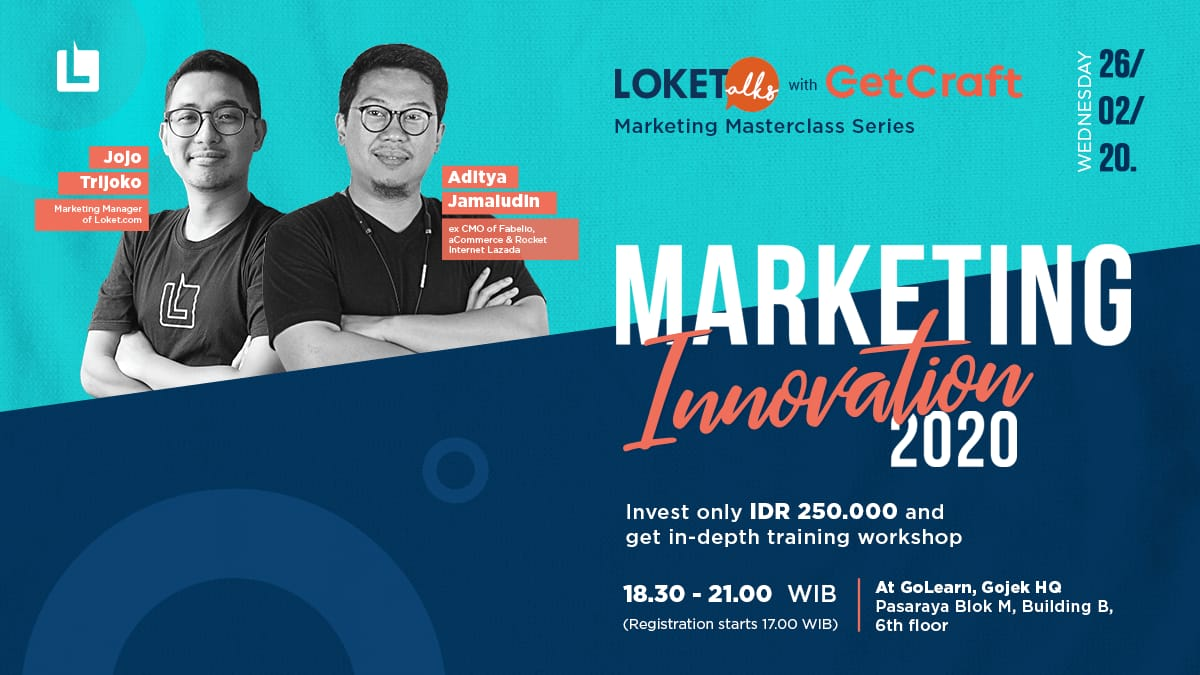 LOKETalks x GetCraft Marketing Innovation 2020