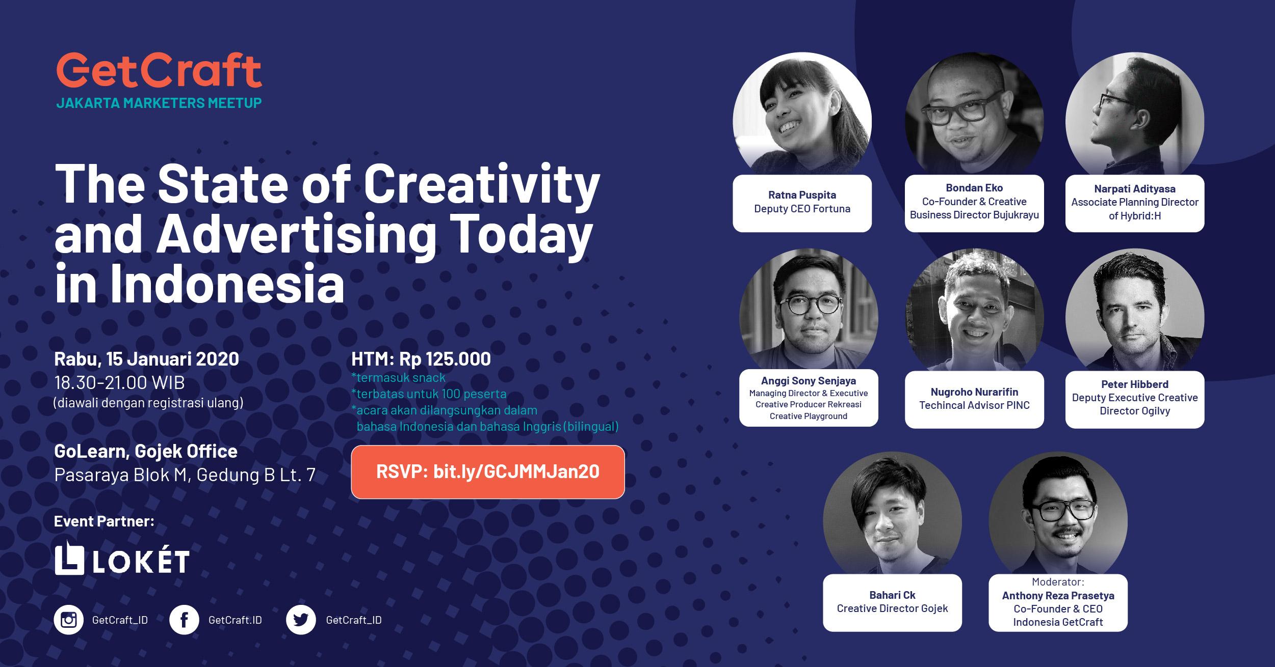 Jakarta Marketers Meetup Ed. Januari 2020